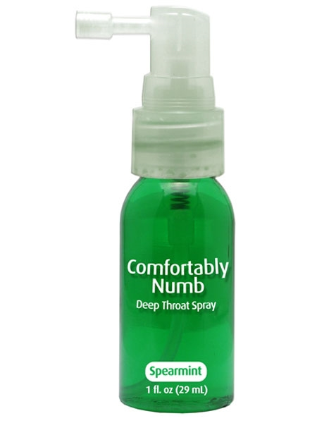 Spearmint Nump Deep Throat Spray