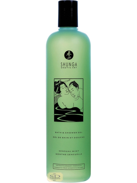 Shunga Bath Gel Mint 500ml