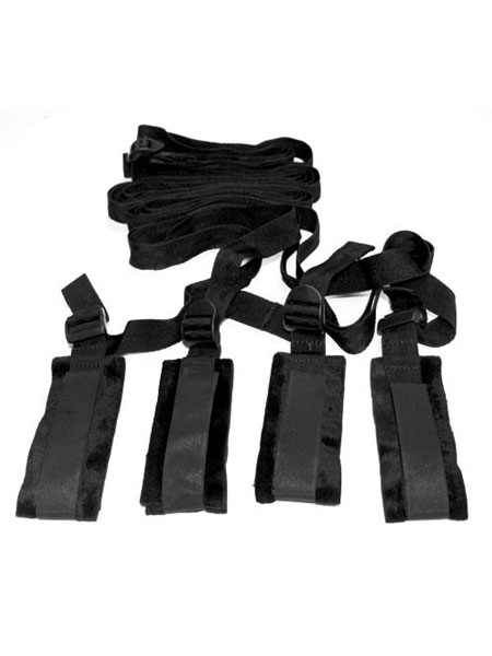Bed Bondage Restraint Kit by Sex & Mischief