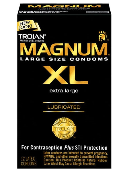 Magnum - Trojan Condoms - Paq of 12