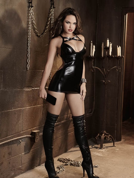 Chemise and Paddle Dungeon Desires by Dreamgirl