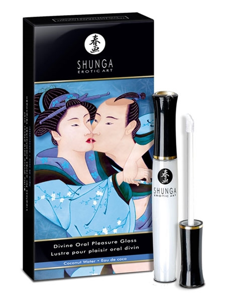 Divine Oral Pleasure Gloss - Coconut Water - Shunga