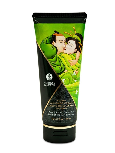 Massage Cream - Pear and Exotic Green Tea - Shunga