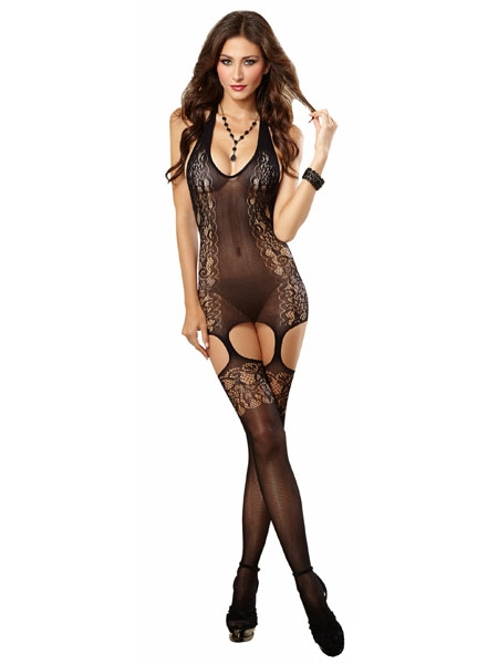 Body with lace design - Dreamgirl