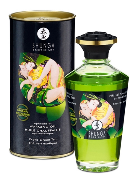Shunga Warming Organica - Green tea