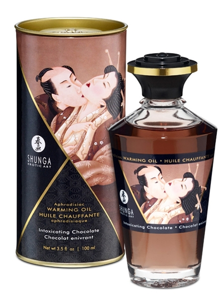 Shunga Warming Oil- Intoxicating chocolate