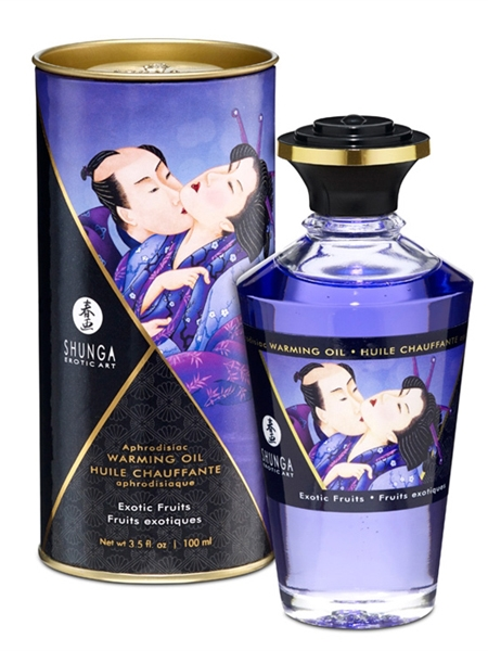 Shunga Warming Oil - Exotic fruits
