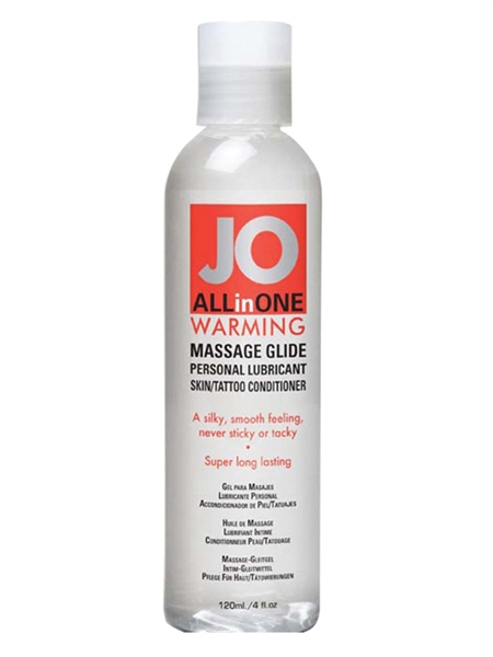 Jo Sensual Massage Warming 4oz (120ml)
