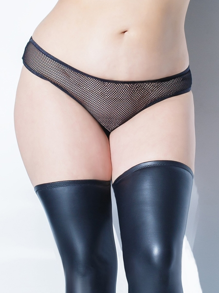Sheer panty crotchless - Coquette