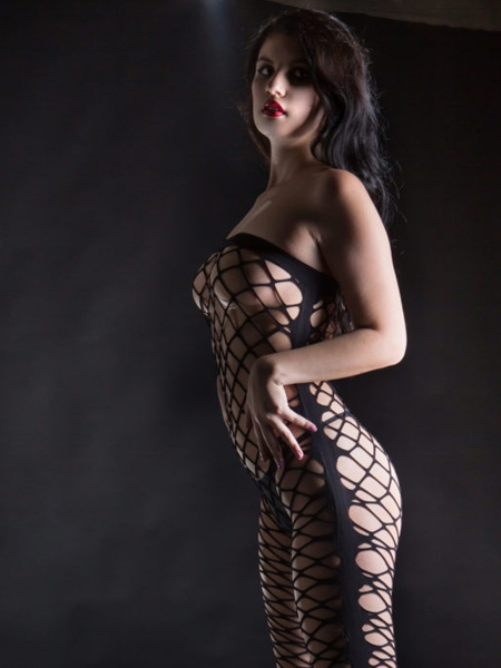 Jumpe suit fishnet - Beverly Hills Naughty Girl